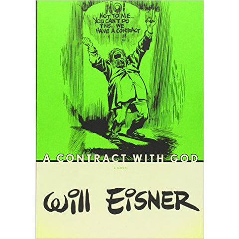 A Contract with God by Will Eisner - Jewish Gifts, Collectibles and Judaica | Reboot Shop