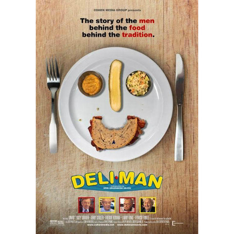 Deli Man from Erik Anjou - Jewish Gifts, Collectibles and Judaica | Reboot Shop