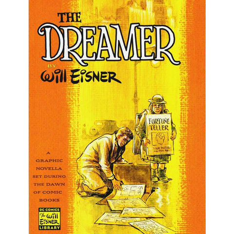 The Dreamer by Will Eisner - Jewish Gifts, Collectibles and Judaica | Reboot Shop
