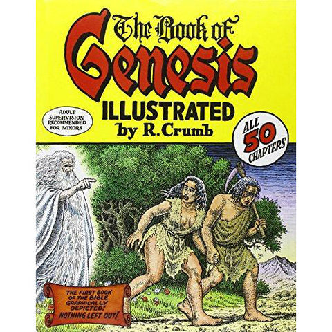 The Book of Genesis Illustrated by R. Crumb - Jewish Gifts, Collectibles and Judaica | Reboot Shop