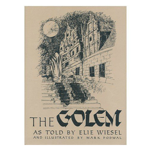 The Golem, As Told By by Elie Wiesel - Jewish Gifts, Collectibles and Judaica | Reboot Shop