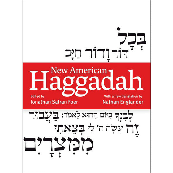 New American Haggadah by Jonathan Safran Foer and Nathan Englander - Jewish Gifts, Collectibles and Judaica | Reboot Shop
