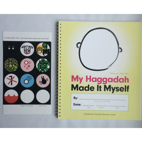 My Haggadah: Made It Myself by Francine Hermelin Levite - Jewish Gifts, Collectibles and Judaica | Reboot Shop