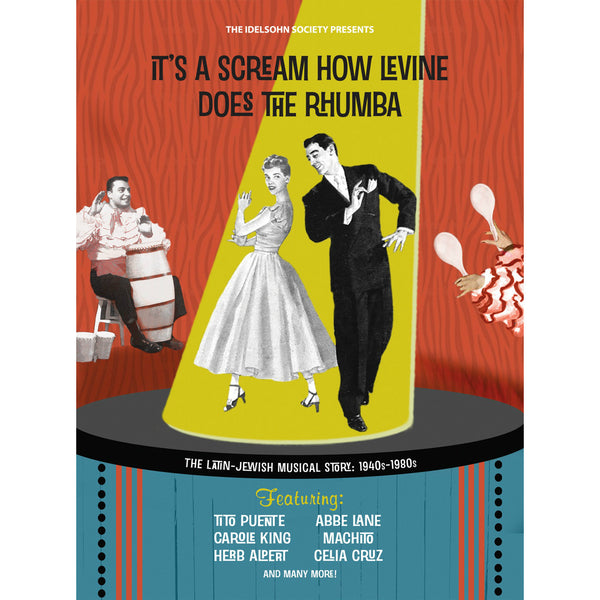 It's A Scream How Levine Does the Rhumba from The Idelsohn Society for Musical Preservation - Jewish Gifts, Collectibles and Judaica | Reboot Shop