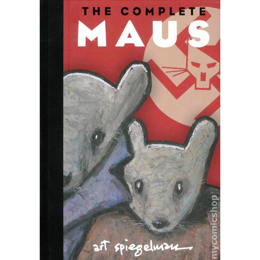 The Complete Maus: 25th Anniversary Edition by Art Spiegelman - Jewish Gifts, Collectibles and Judaica | Reboot Shop