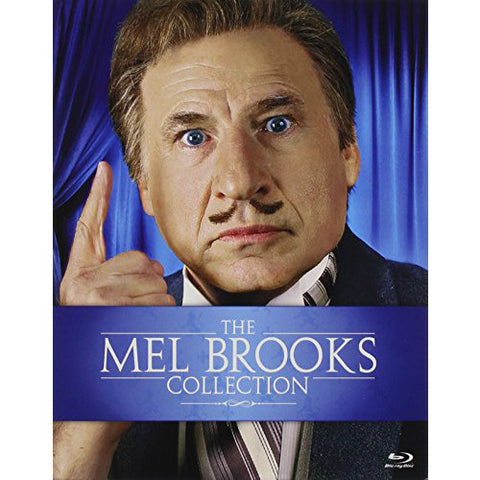 The Mel Brooks Collection: Blazing Saddles, Spaceballs, Young Frankenstein, High Anxiety, History Of The World Part 1, Robin Hood: Men In Tights, Silent Movie, To Be Or Not To Be, The Twelve Chairs