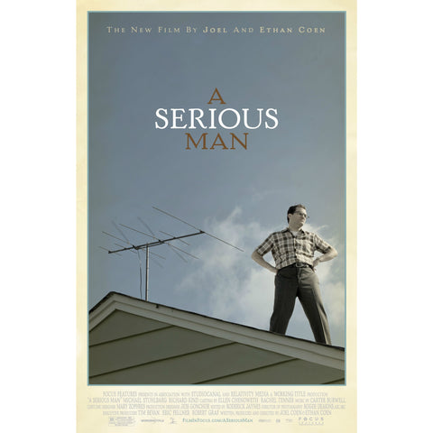 A Serious Man from the Coen Brothers - Jewish Gifts, Collectibles and Judaica | Reboot Shop