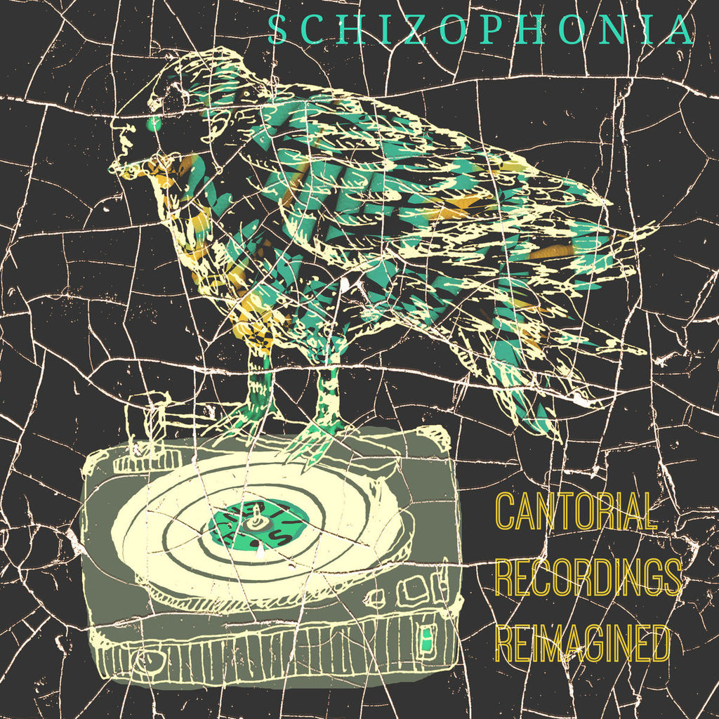 Schizophonia: Cantorial Recordings Reimagined by Yoshi Fruchter - Jewish Gifts, Collectibles and Judaica | Reboot Shop