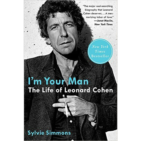 I'm Your Man: The Life of Leonard Cohen by Sylvie Simmons - Jewish Gifts, Collectibles and Judaica | Reboot Shop