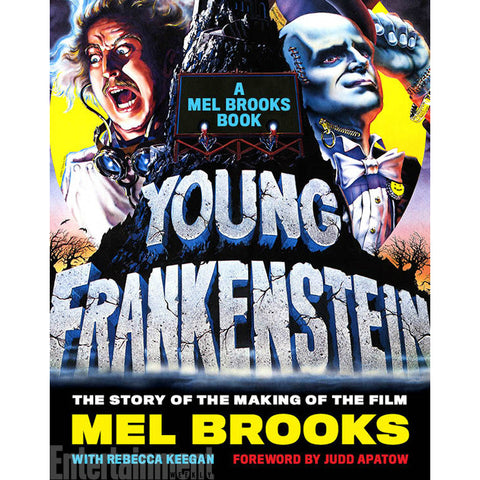 Young Frankenstein: A Mel Brooks Book: The Story of the Making of the Film, with foreword by Judd Apatow - Jewish Gifts, Collectibles and Judaica | Reboot Shop