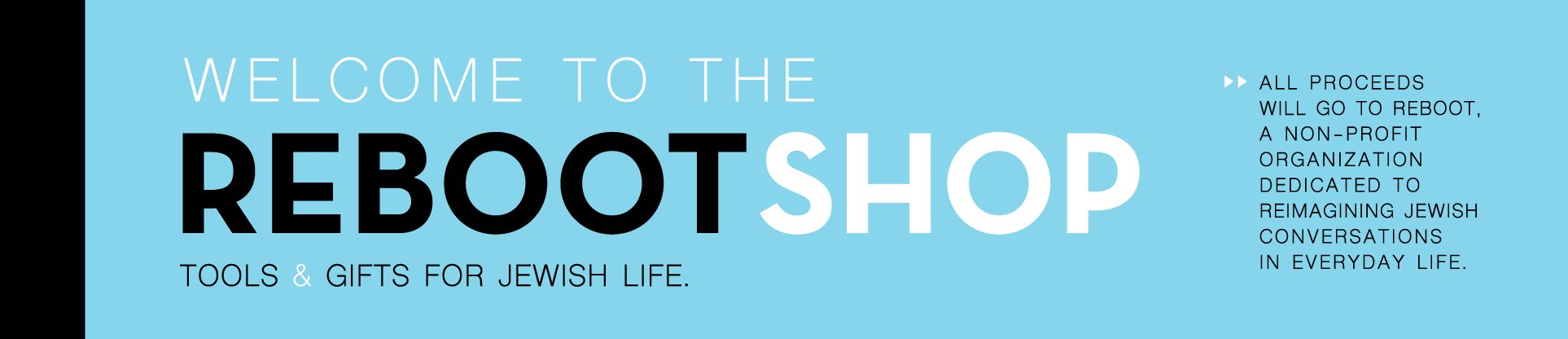 Jewish Gifts: Welcome to Reboot Shop