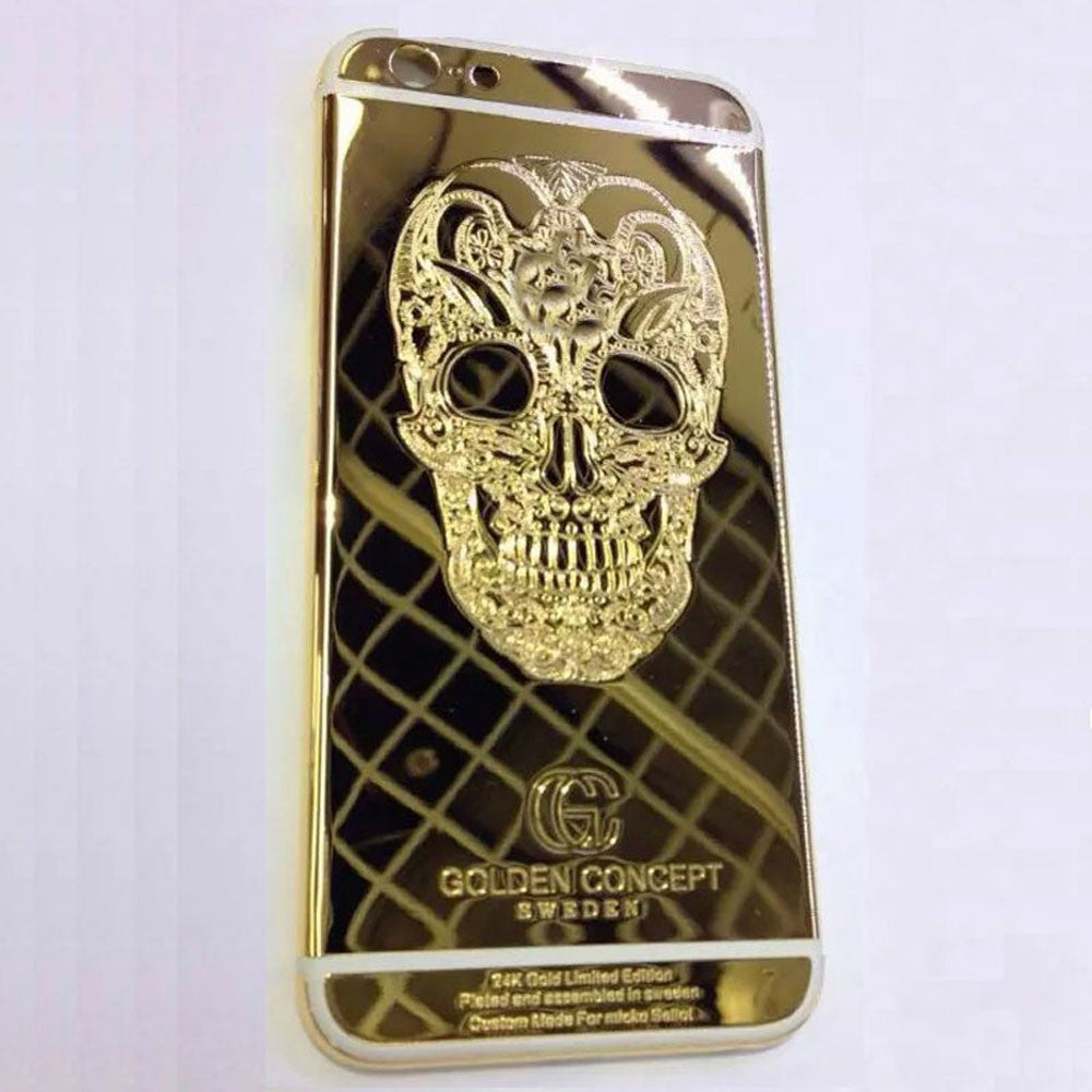 best loved b3709 0741f Protective case gold plated 24K