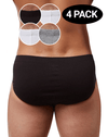 2(X)IST 3102043203 Cotton 4pk Bikini Briefs 095nl-gray-white-black-white