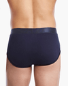 2(X)IST 3104100301 Pima Cotton Contour Pouch Briefs 481nl-navy