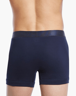 2(X)IST 3104100401 Pima Cotton Boxer Briefs 481nl-navy
