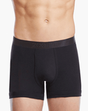 2(X)IST 3104100401 Pima Cotton Boxer Briefs 004nl-black - StevenEven.com