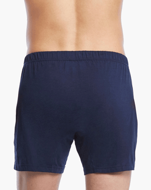 2(X)IST 3104100701 Pima Cotton Knit Boxer 481nl-navy