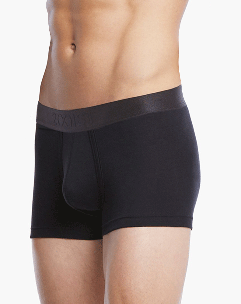 2(X)IST 3104102301 Pima Cotton Trunk 004nl-black