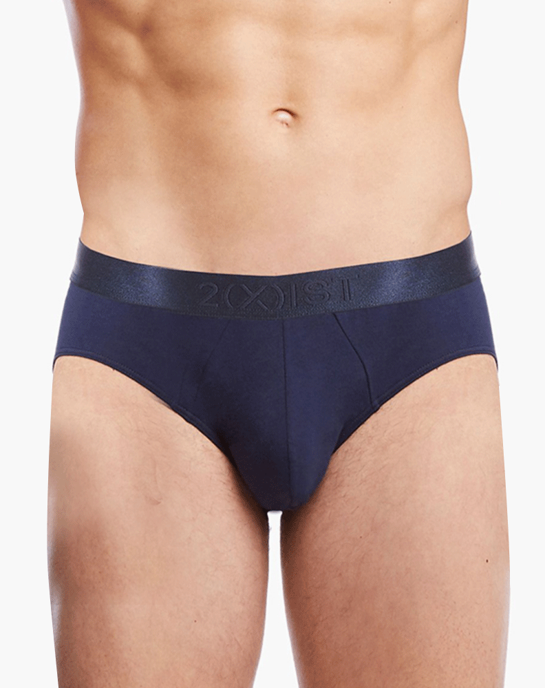 2(X)IST 3104103201 Pima Cotton Bikini Briefs 481nl-navy
