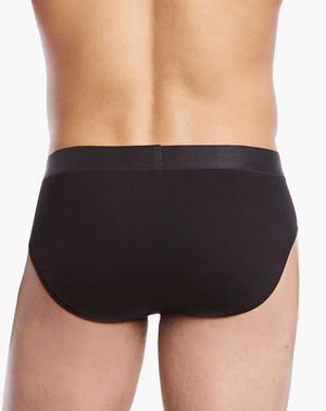 2(X)IST 3104103201 Pima Cotton Bikini Briefs 004nl-black - StevenEven.com