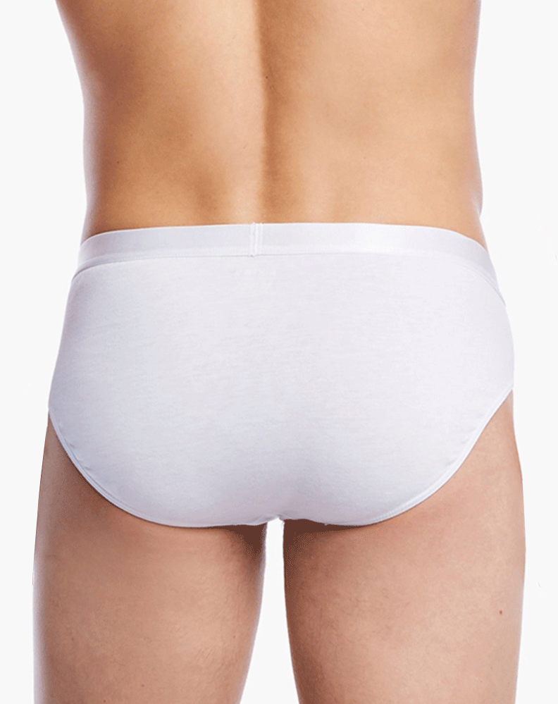 2(X)IST 3104103201 Pima Cotton Bikini Briefs 101nl-white - StevenEven.com