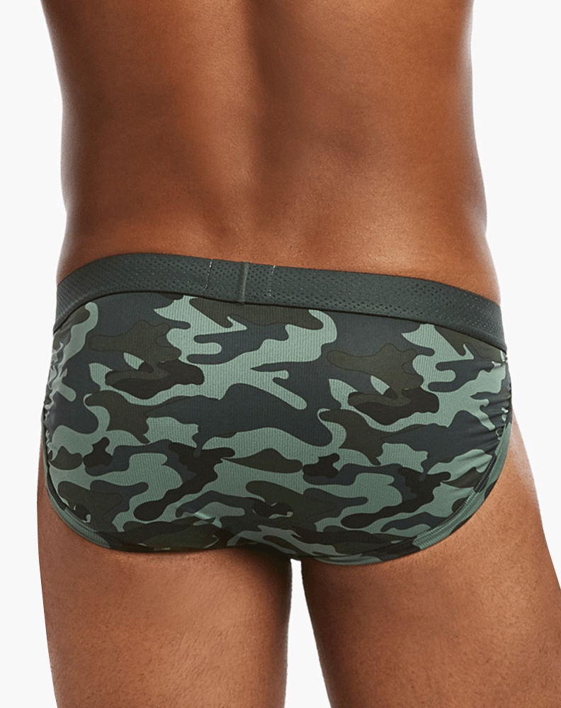 2(X)IST 3104771201 Speed Dri Mesh Sport Briefs 35222-camo Green - StevenEven.com