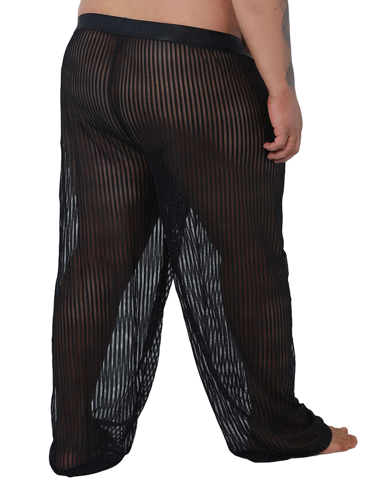 Candyman 99496x Mesh Lounge Pants Black