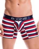 B-one 0004-1 Boxer Briefs Lenox Red
