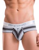 B-one 0005-3 Briefs Clinton Gray