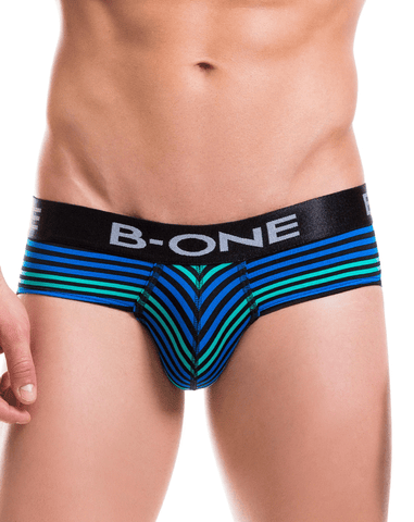 B-one 0006-2 Boxer Briefs Lincon Blue