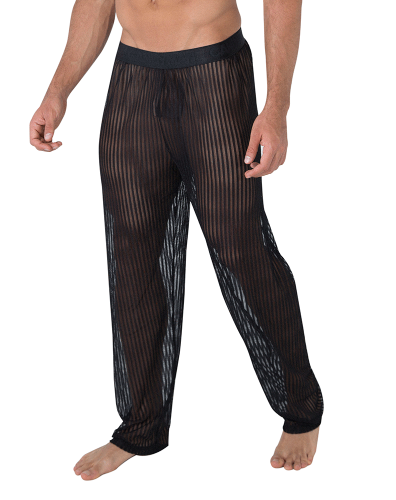 Candyman 99496 Mesh Lounge Pants Black