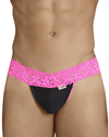 Candyman 99370 Thongs Pink-black - StevenEven.com