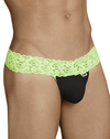 Candyman 99370 Thongs Green-black