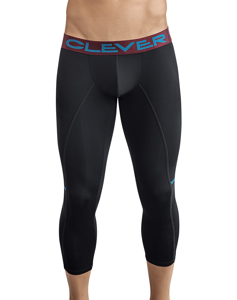 Clever 0316 Power Athletic Pants Black