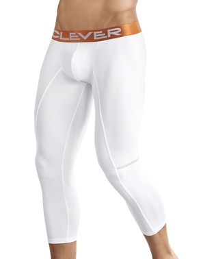 Clever 0316 Power Athletic Pants White