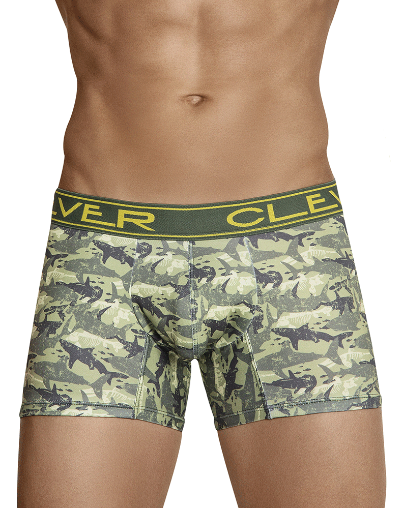 Clever 2424 Oton Boxer Briefs Green