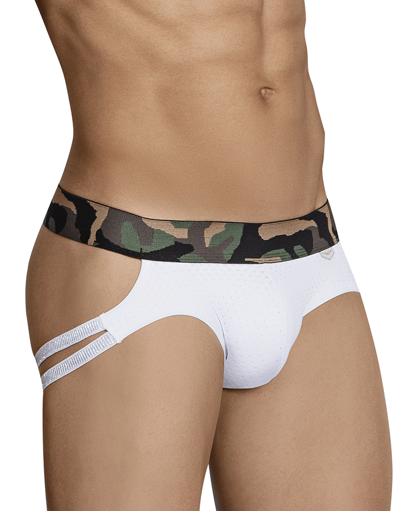 Clever 3022 Hostiliano Jockstrap White
