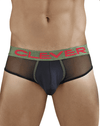 Clever 5232 Begonia Piping Briefs Black - StevenEven.com