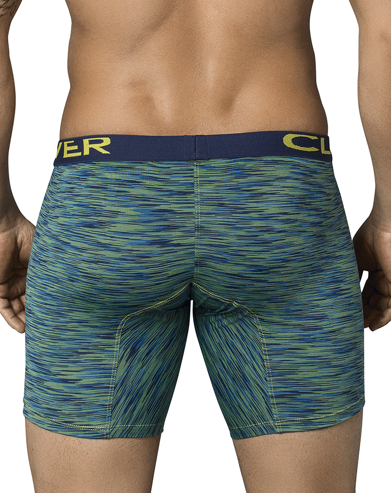 Clever 9199 Opera Long Boxer Briefs Green
