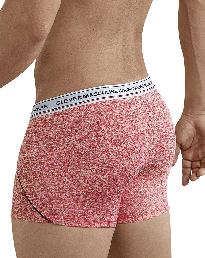 Clever 2369 Bulgarian Boxer Briefs Red - StevenEven.com