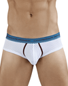 Clever 5381 Cattleya Piping Briefs White