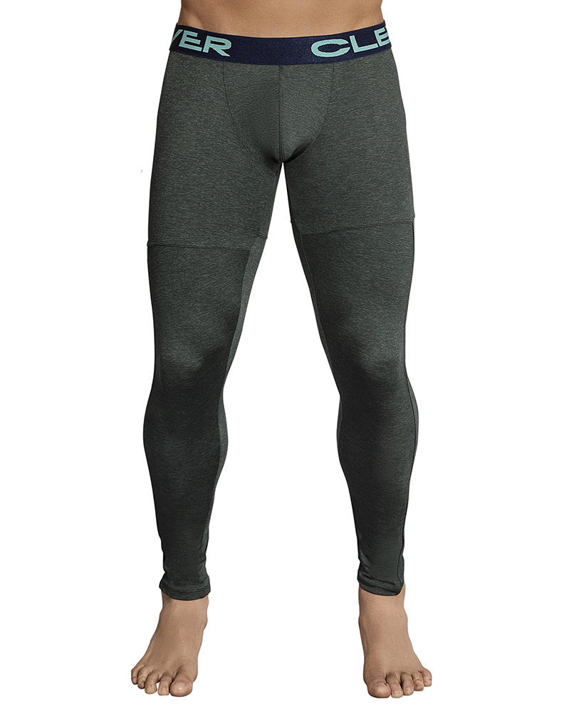 Clever 0314 Gordiano Athletic Pants Green - StevenEven.com