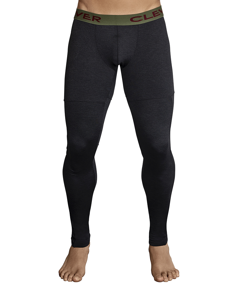 Clever 0314 Gordiano Athletic Pants Black