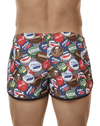Clever 0688 Energy Swim Trunks Red