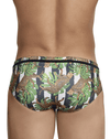 Clever 0690 Emiliano Swim Briefs Green - StevenEven.com