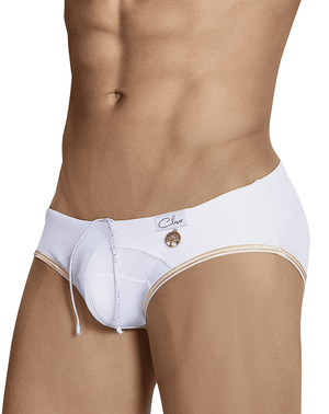 Clever 0694 Cesar Swim Briefs White