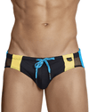 Clever 0696 Galba Swim Briefs Black