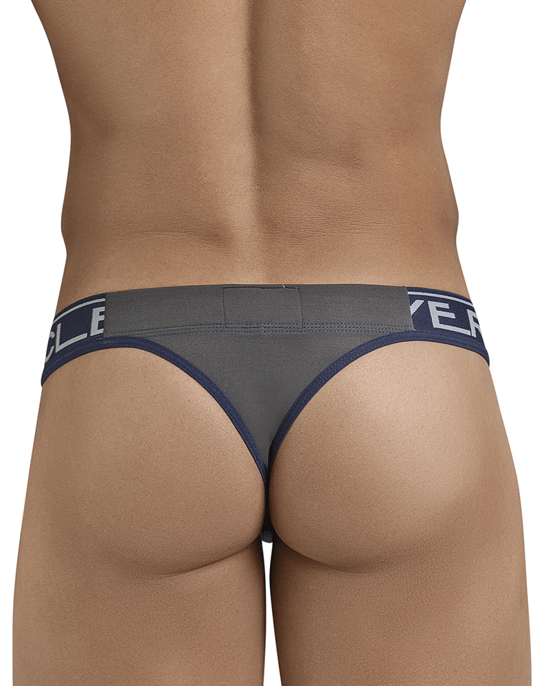 Clever 1295 Exciting Thongs Dark Gray