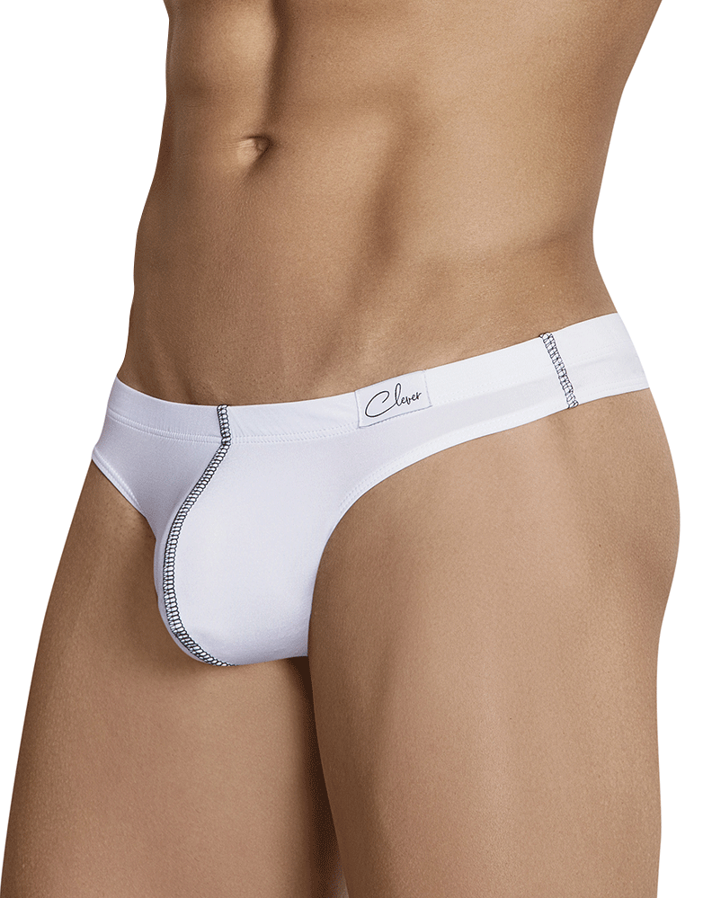 Clever 1296 Constantino Thongs White - StevenEven.com
