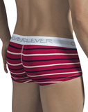Clever 2297 Wine Boxer Briefs Red